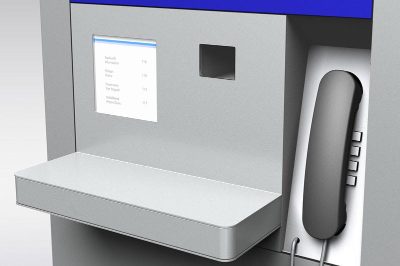 Fraport info kiosk produktentwicklung polygon for Polygon gmbh obertshausen